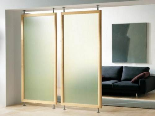 hanging room divider panels ikea photo - 1