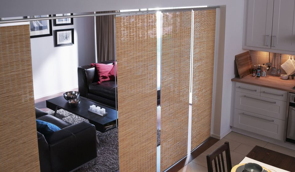 hanging room divider panels ikea photo - 6