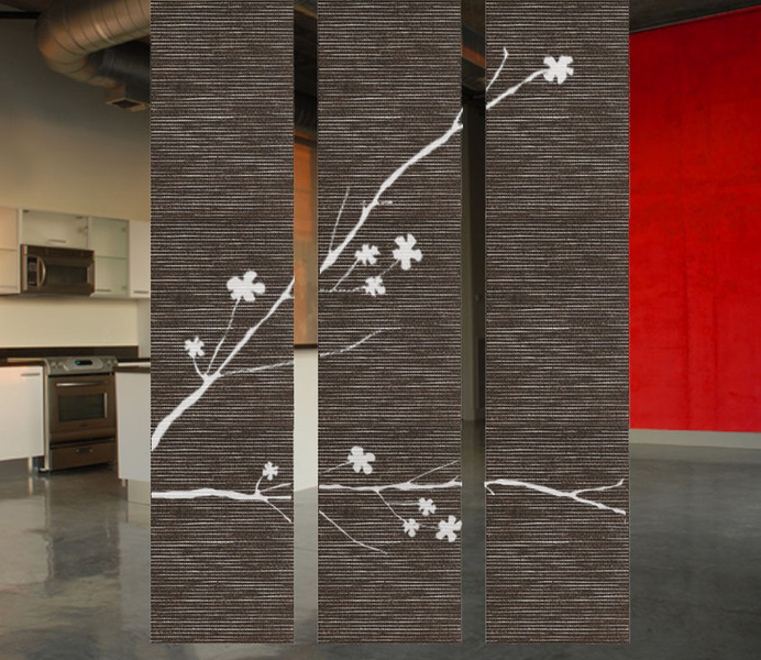 hanging room dividers photo - 3