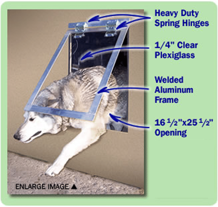 heavy duty dog door photo - 5