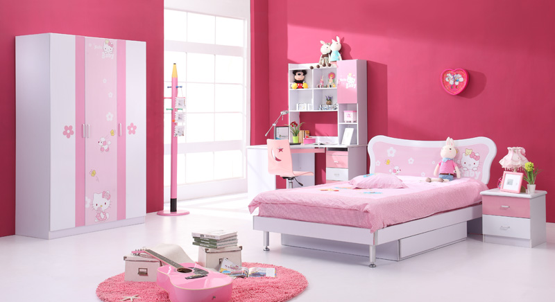 hello kitty bedroom furniture for kids photo - 5