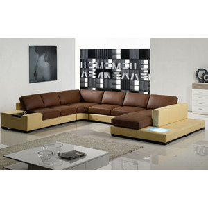 high end leather sectional sofas photo - 3