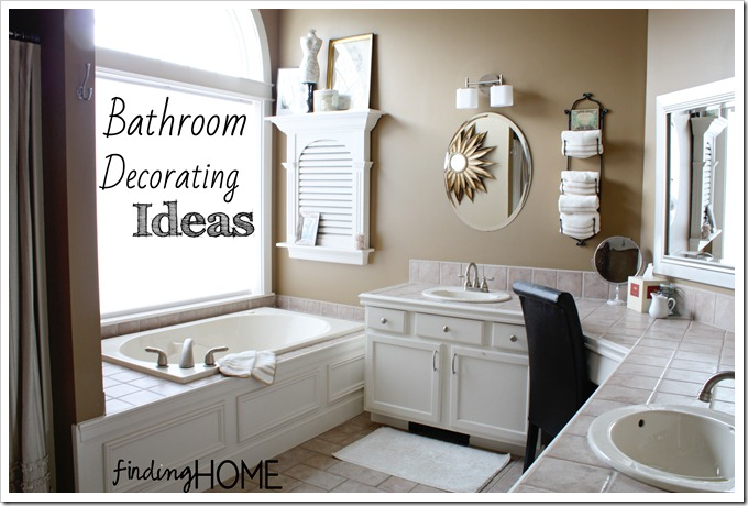 home bathroom decorating ideas photo - 1