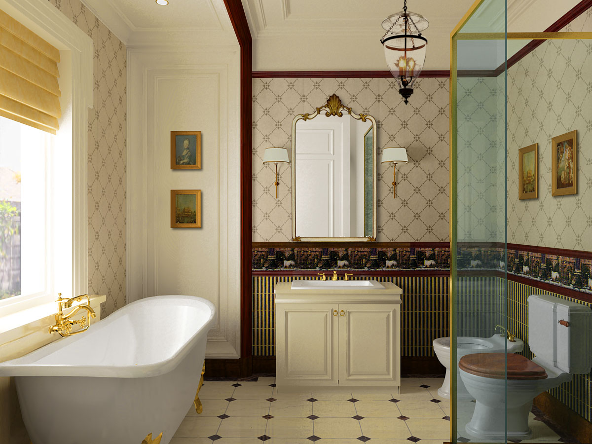 home bathroom designs photo - 1