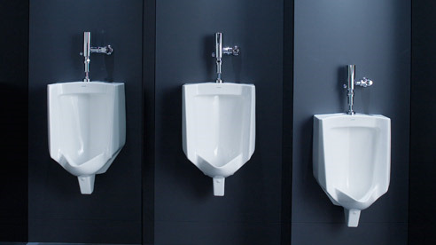 home bathrooms with urinals photo - 3