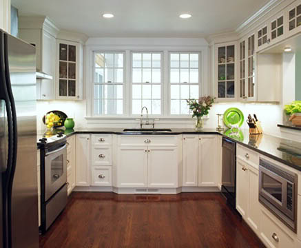 ideas for u shaped kitchen photo - 3