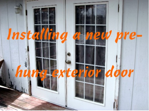 install french doors exterior wall photo - 3