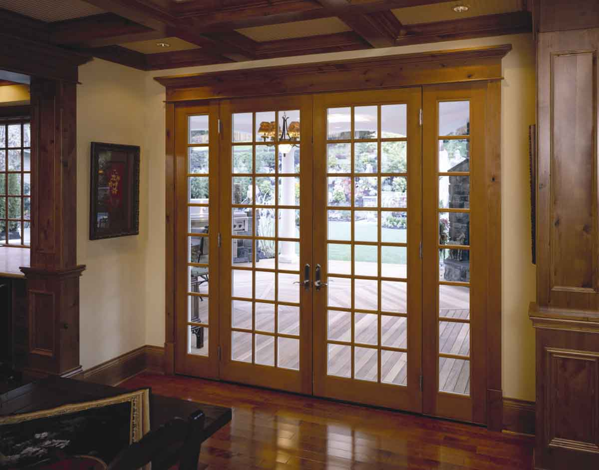 interior exterior french doors photo - 2