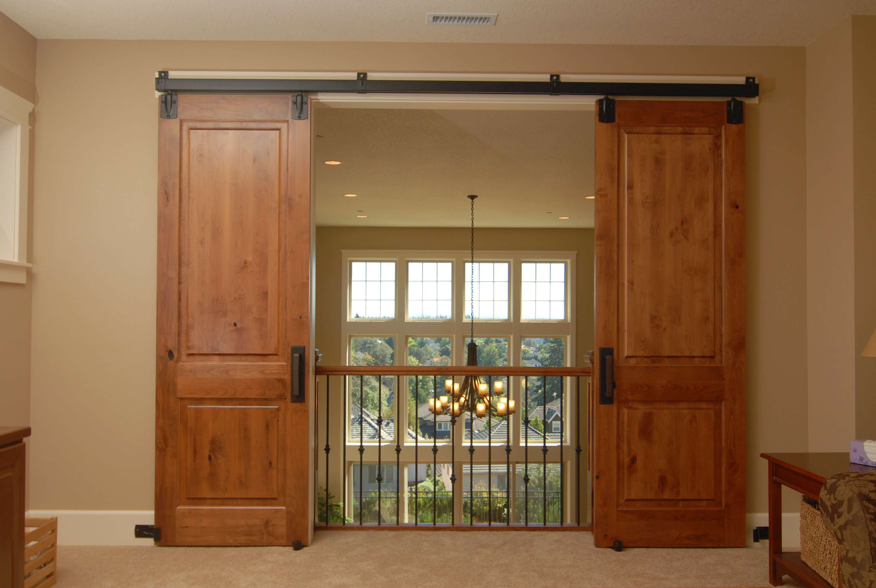 interior exterior sliding doors photo - 3