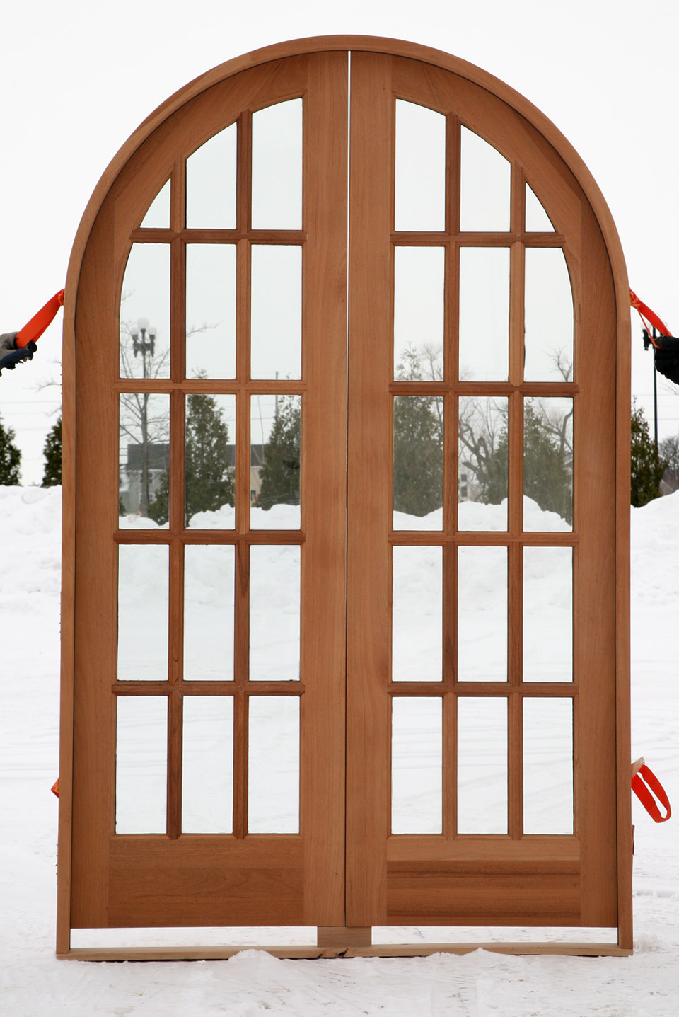 interior french doors sidelights photo - 3