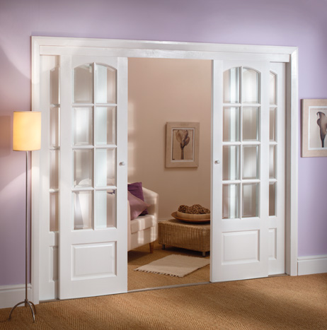 interior french doors sliding photo - 1