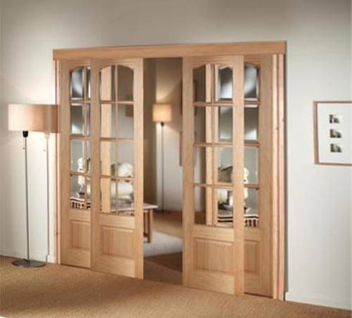 interior french doors sliding photo - 2