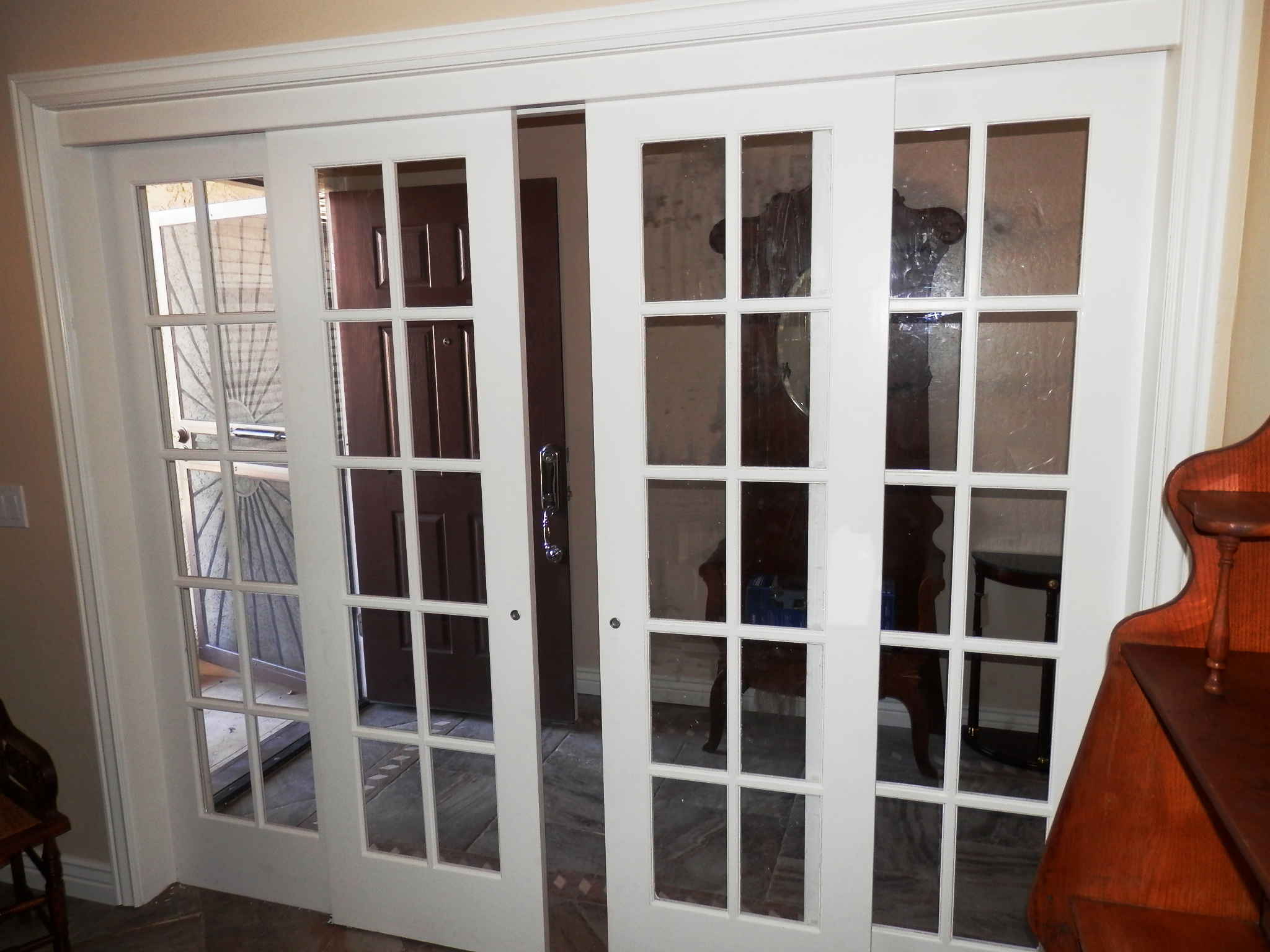 interior french doors sliding photo - 4