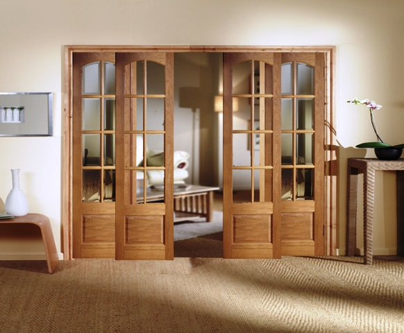 interior french doors sliding photo - 5