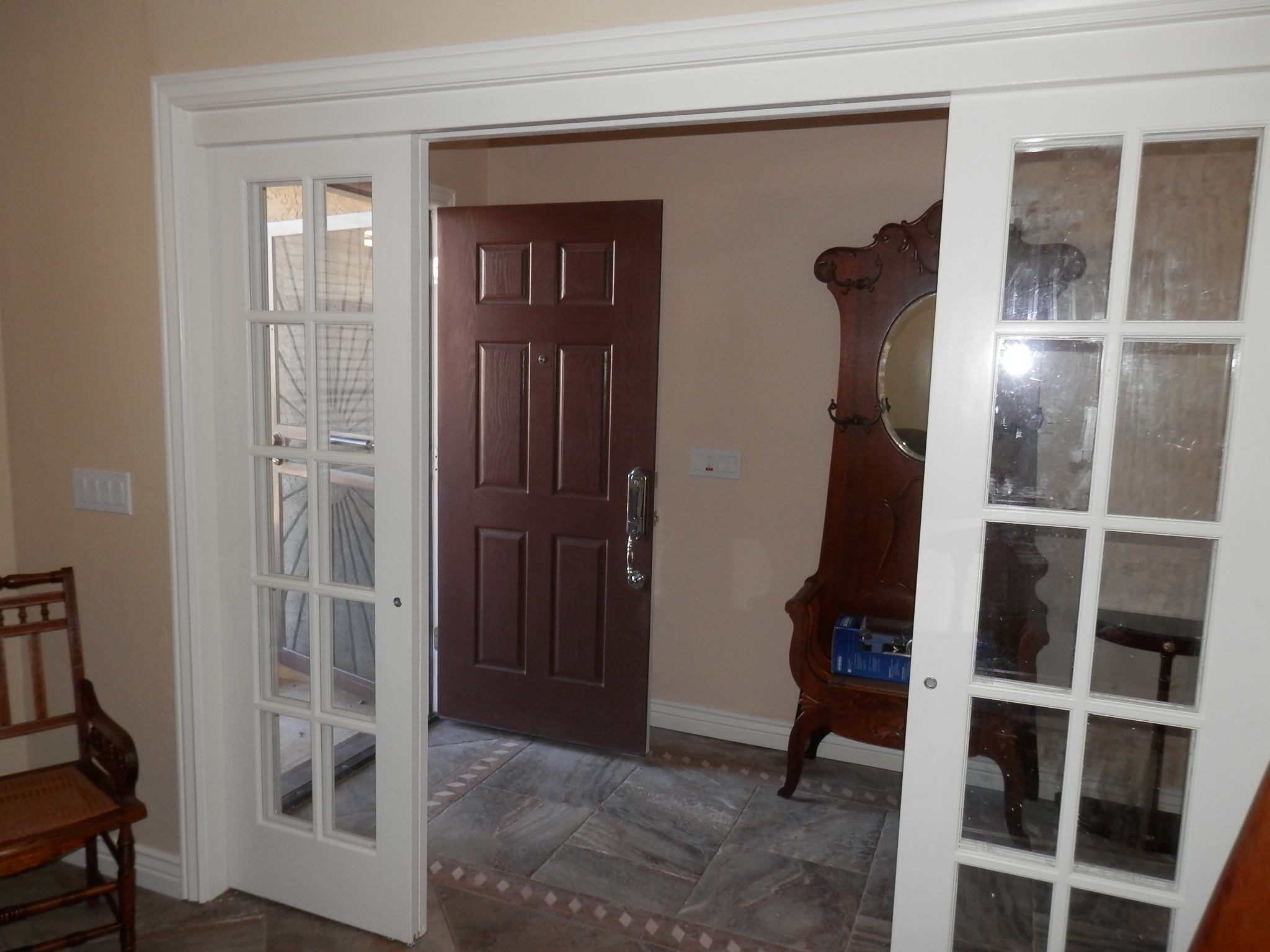 interior french doors sliding photo - 6