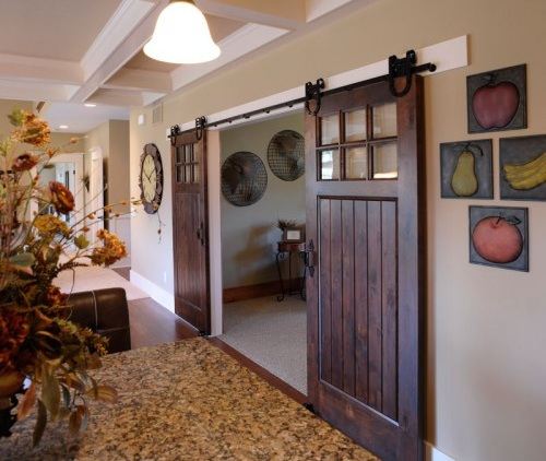 interior french doors without glass photo - 5