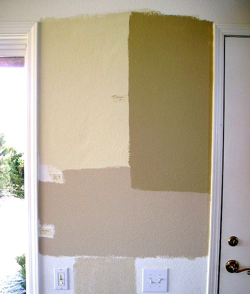 interior house paint samples photo - 1