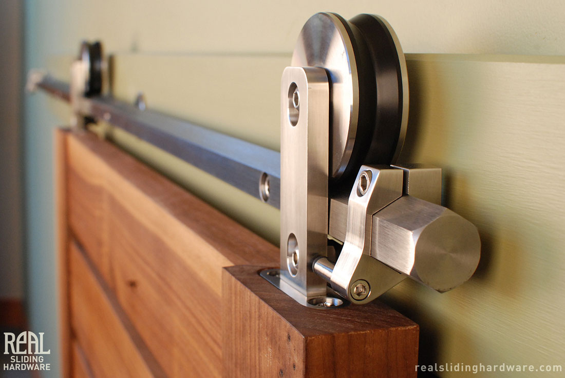 interior sliding door bracket photo - 4