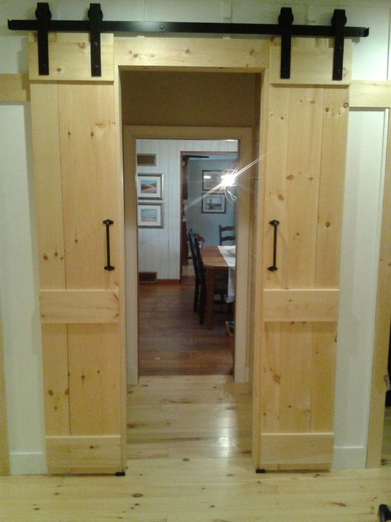 Interior sliding doors barn style interior exterior doors for Barn style exterior doors