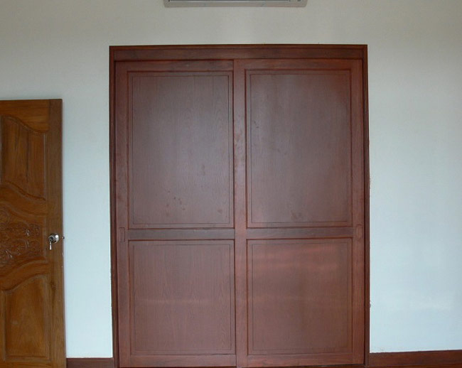 interior sliding doors closet photo - 3