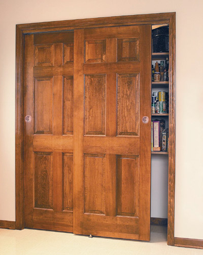 interior sliding doors closet photo - 6