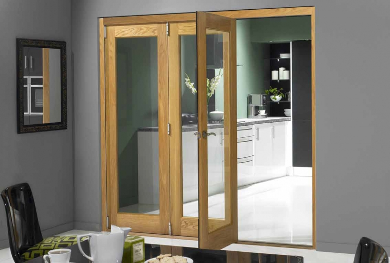 interior sliding folding doors photo - 3