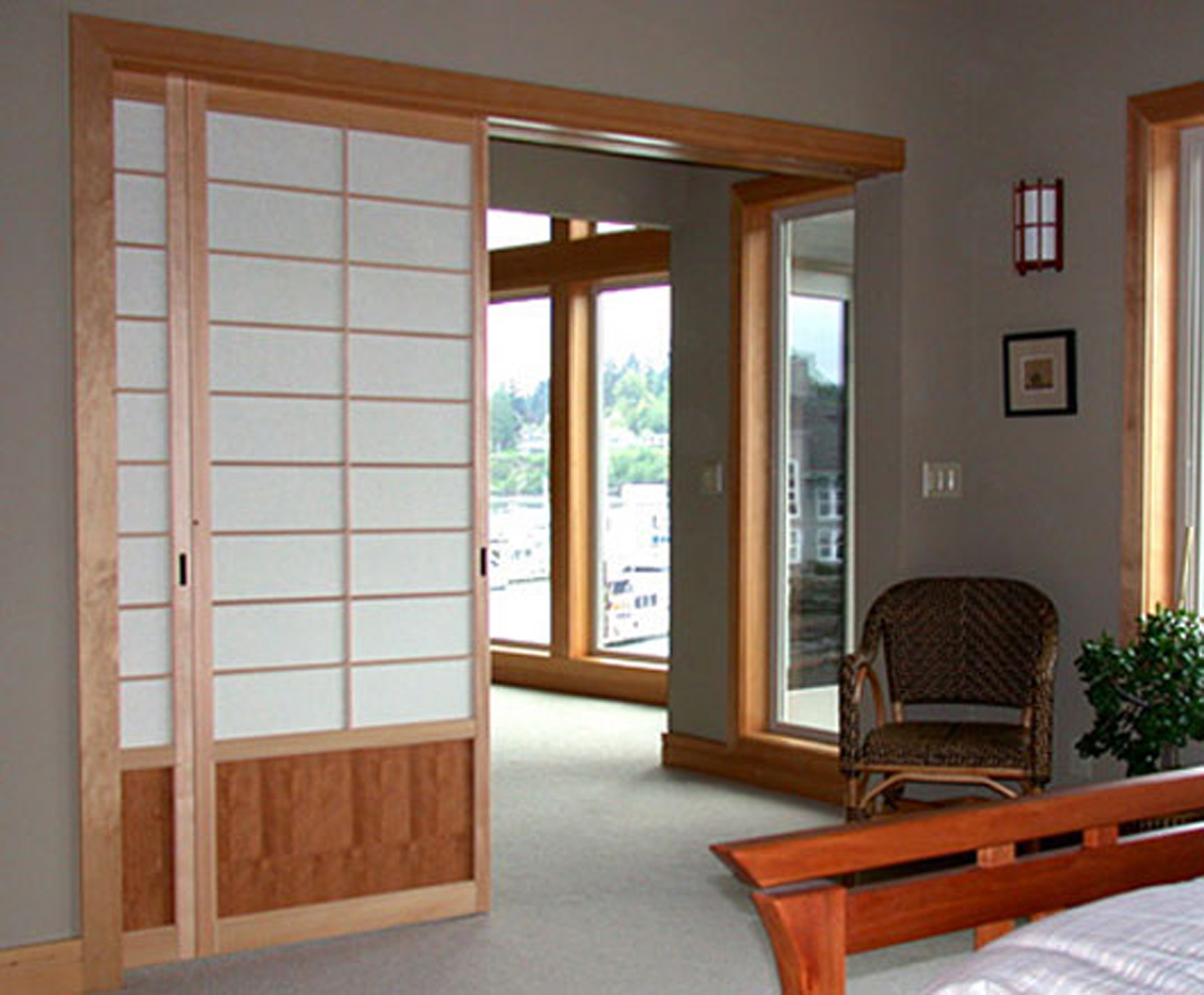 interior sliding japanese doors photo - 2