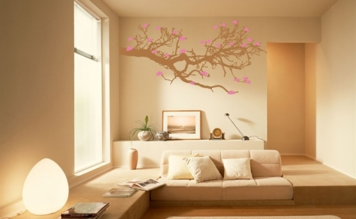 interior wall paint design ideas photo - 1