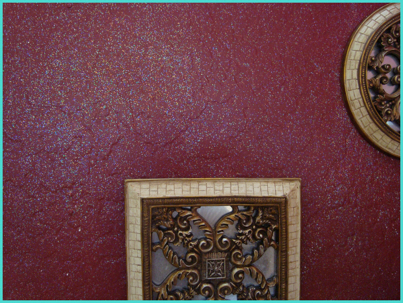 interior wall paint glitter photo - 1