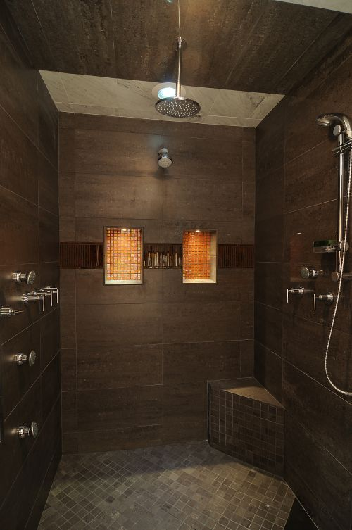 italian marble tile bathroom photo - 3