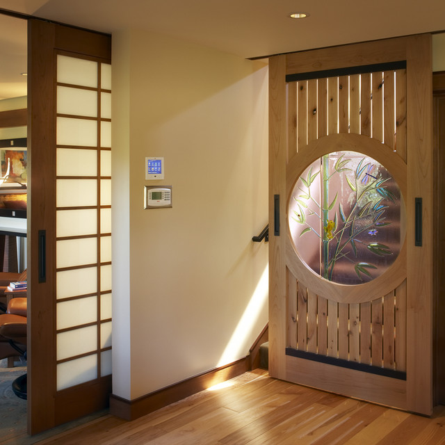 japanese sliding glass doors photo - 5