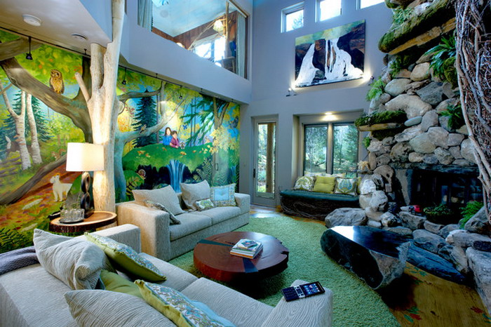 Living Room Jungle jungle living room designs | interior & exterior doors