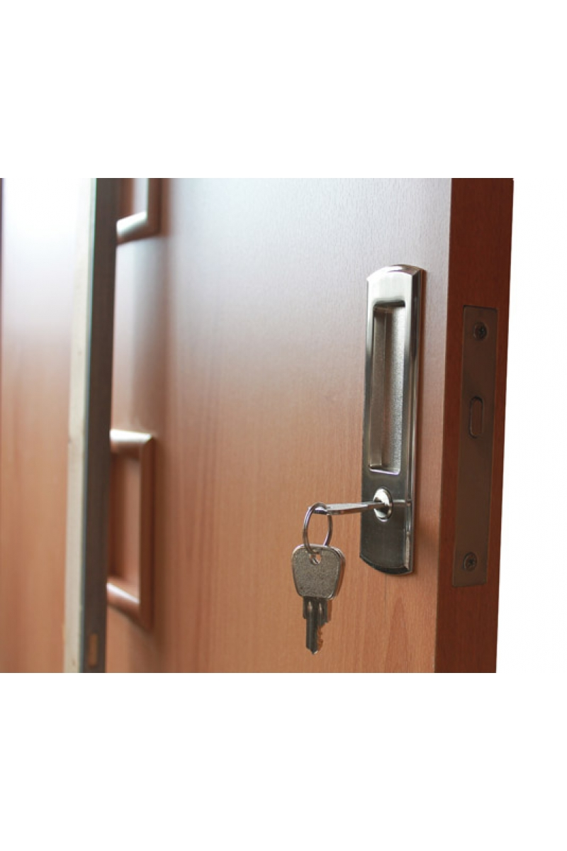 Exterior sliding door locks -  Keyed Interior Sliding Door Lock Photo 3