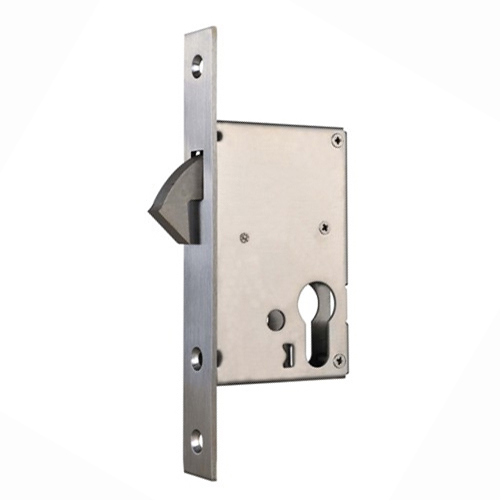 keyed interior sliding door lock photo - 4