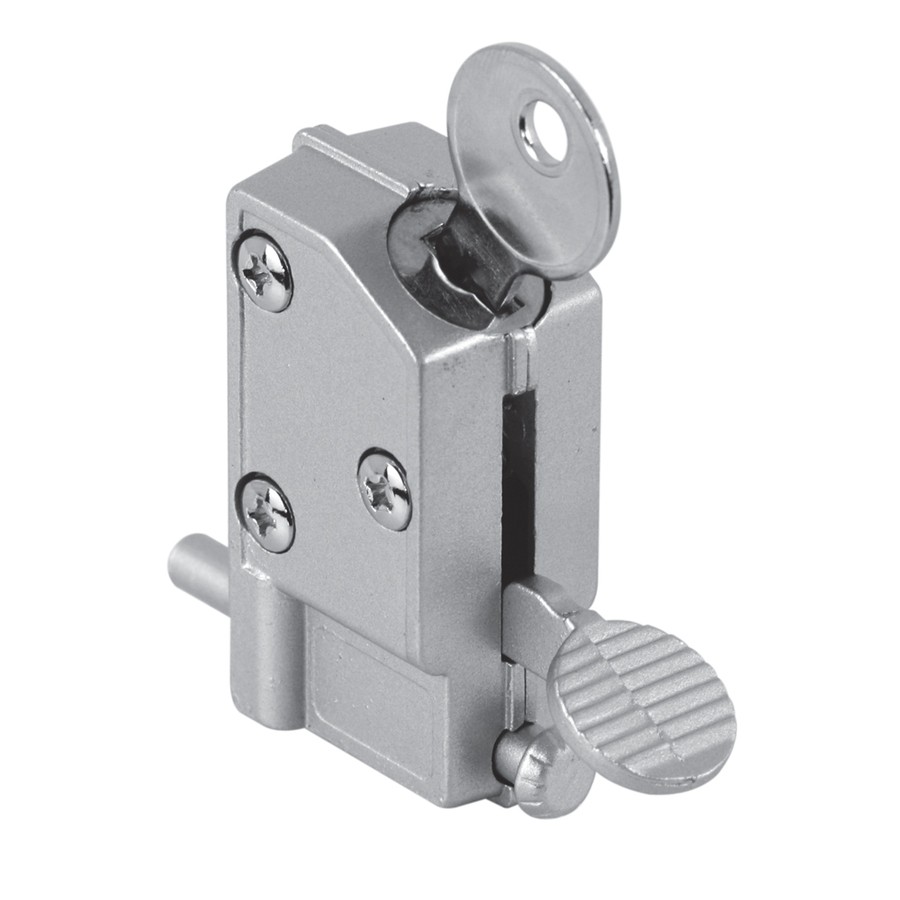 keyed interior sliding door lock photo - 5