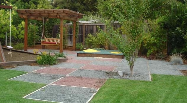 Kid Friendly Garden Design Ideas Photo   2