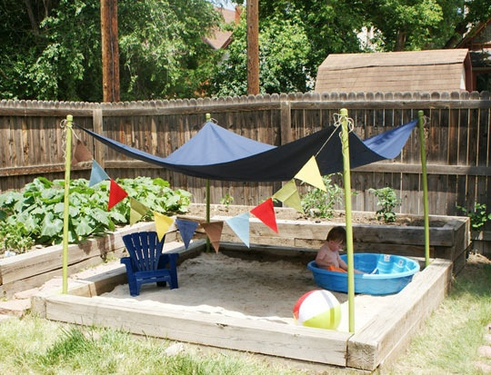 Kid Friendly Garden Design Ideas Photo