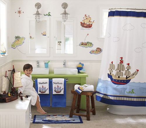 kids bathroom ideas for boys photo - 1