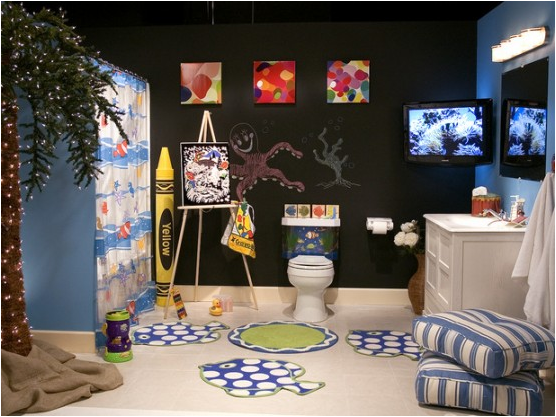 kids bathroom ideas for boys photo - 3