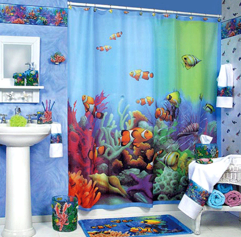Kids Beach Bathroom Ideas Photo   2