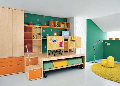kids bedroom furniture design ideas photo - 1