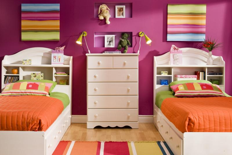 kids bedroom furniture for twins photo - 1
