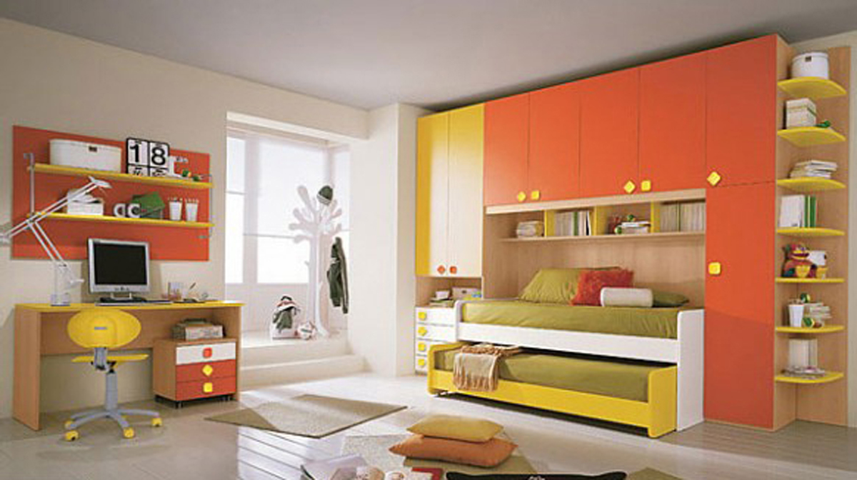 kids bedroom furniture for twins photo - 2