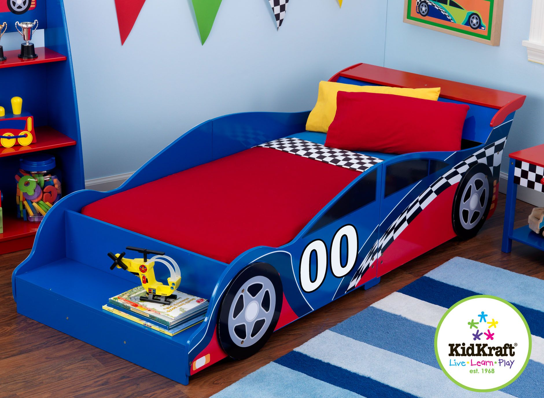 kids cars toddler bed photo - 4