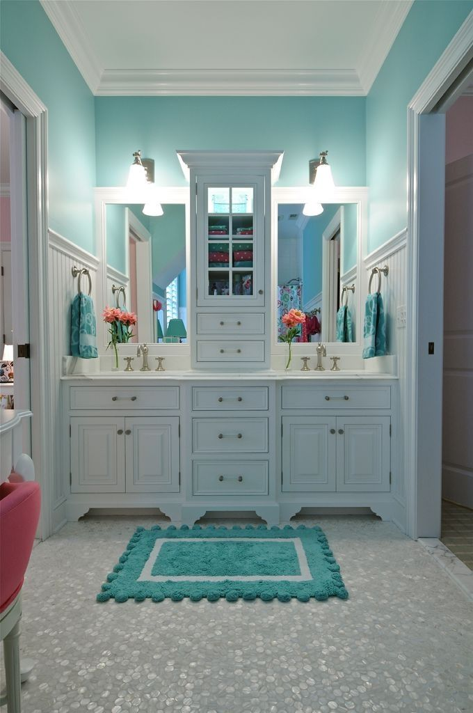 kids jack and jill bathroom ideas photo - 3