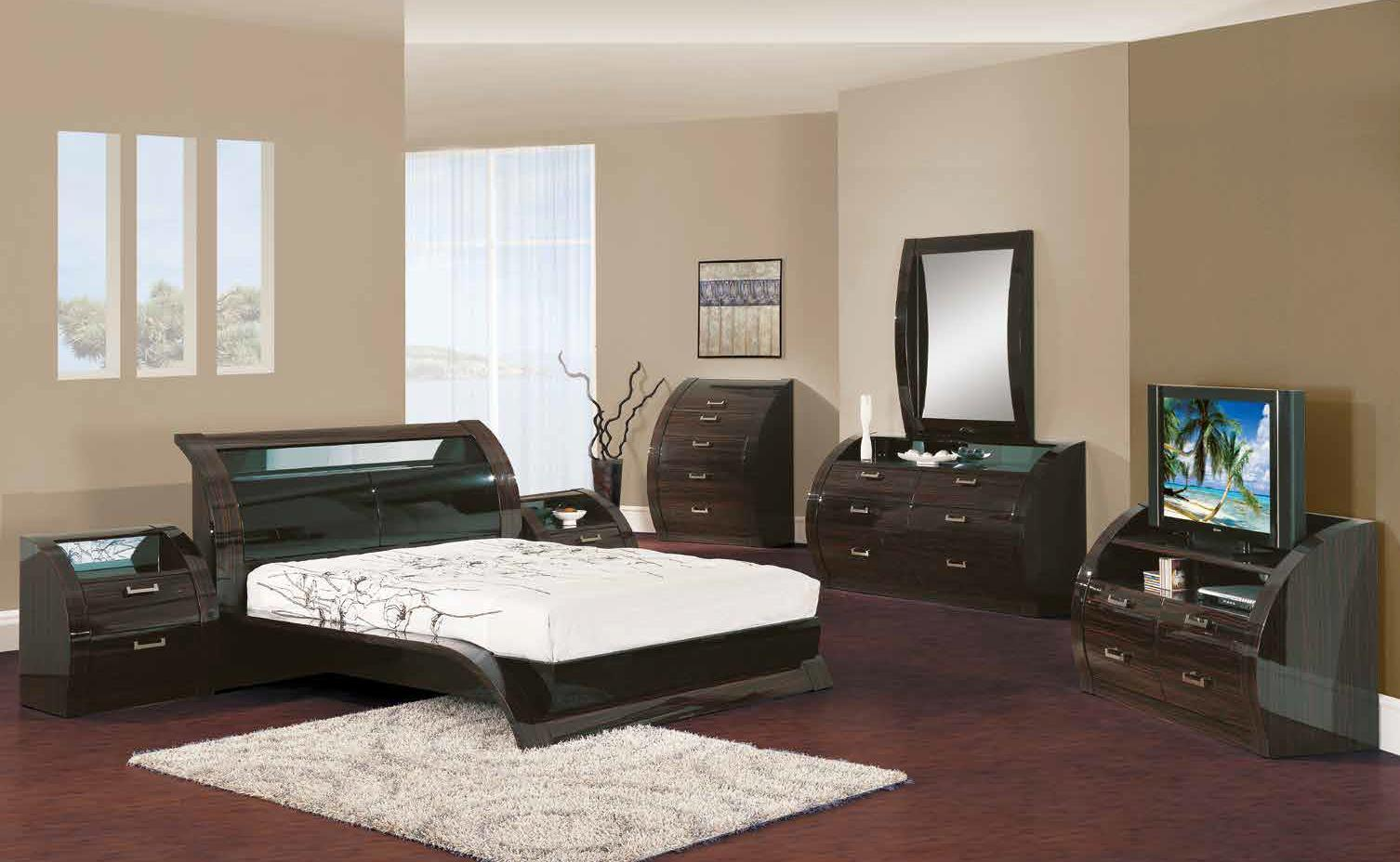 king size black bedroom furniture sets photo - 2