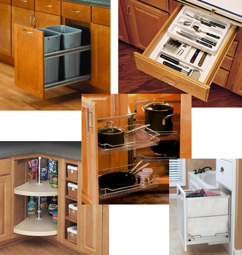 kitchen cabinet accessory ideas photo - 3