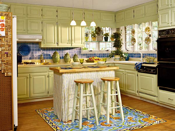 kitchen cabinet colors and ideas photo - 5
