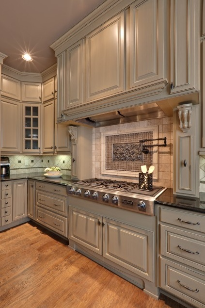 kitchen cabinet finishing ideas photo - 3