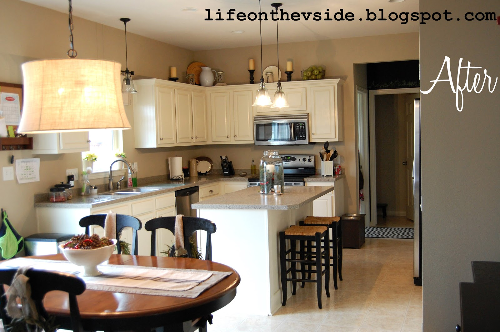 kitchen cabinet ideas for a cabin photo - 5